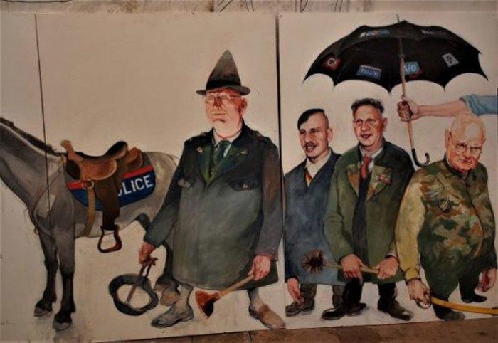 Josef Schützenhöfer, Fools and Tools of Facism, (Kurz kickls Goebbels the Mule)
