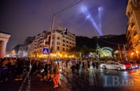 Kyiv Lights Festival стартовал на Почтовой площади
