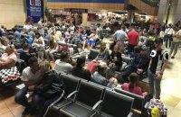 Более 200 украинских туристов снова не смогли вылететь из Египта