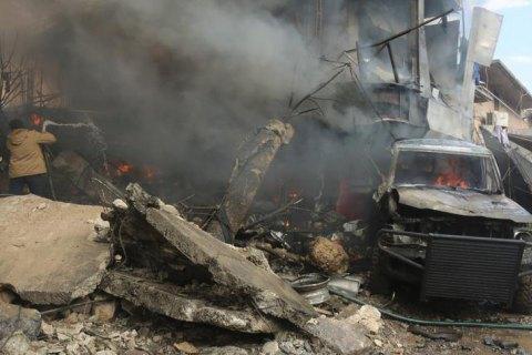 Жертвами вибуху в підконтрольному сирійським повстанцям місті стали 60 осіб