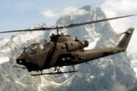 В Афганистане упал вертолет с американскими военными
