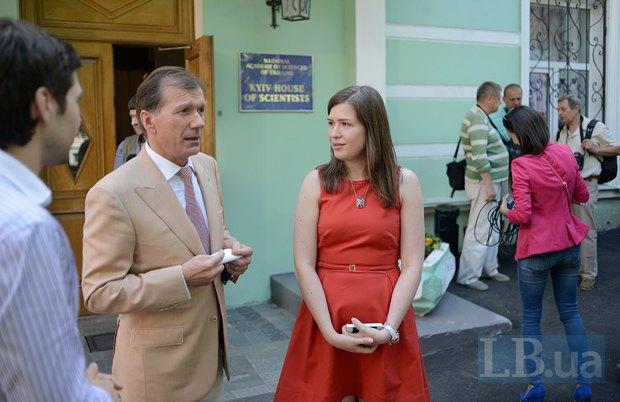Равиль Сафиуллин и Елена Бойцун