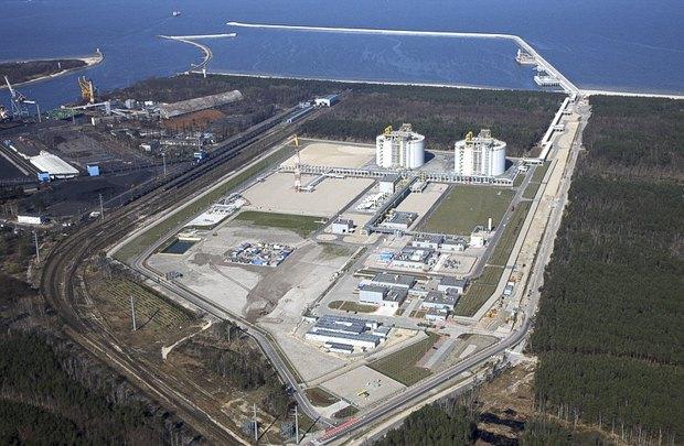 СПГ-терминал в Свиноуйсьце, Польша