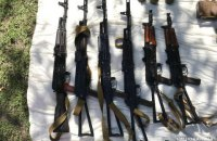 Поліція знайшла великий арсенал зброї в рамках розслідування про вибух у банку Старобільська