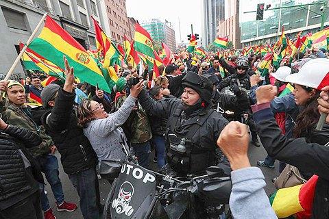 Мини революция в Боливии. Что после Моралеса?