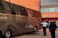 """Автобус """"Реала"""" перед матчем Ліги чемпіонів в Ліверпулі закидали камінням"""