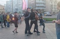 В центре Москвы полиция задержала ребенка, читавшего вслух стихи