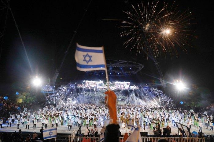 Святкування 70-ї річниці Дня незалежності Ізраїлю, 18 квітня 2018.