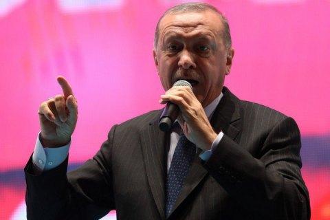 Ердоган заявив, що турецькі сили в Сирії захопили дружину вбитого ватажка ІДІЛ