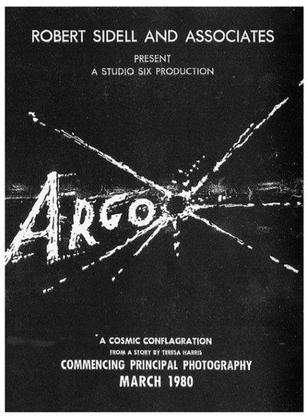 """Постер к настоящему ненастоящему фильму """"Арго"""""""