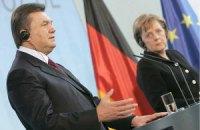 Янукович завтра встретится с Меркель и Олландом