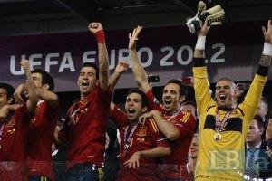 Іспанці отримають по 720 тисяч за перемогу в Бразилії