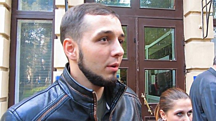 Юрий Павленко (Хорт) после заседания суда
