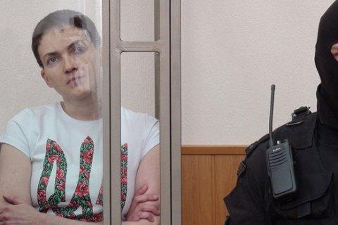 Російські тюремники заявили про згоду Савченко на підтримувальну терапію