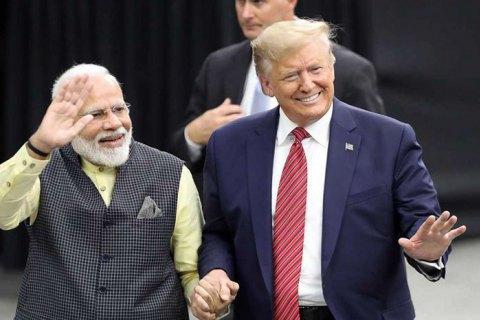 """""""Рок-зірка"""" Дональд Трамп в Індії"""