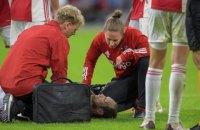 Футболист сборной Нидерландов с криком упал во время матча - у него отказал сердечный дефибриллятор