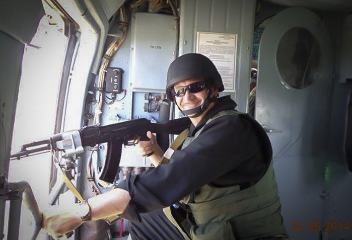 Генерал-майор Кульчицький під час Антитерористичної операції за тиждень до смерті