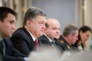 Порошенко не бачить необхідності у миротворцях на Донбасі