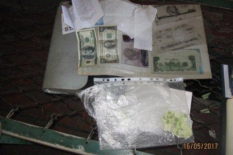 В'язні колонії уЗапорізькій області друкували фальшиві гривні, долари тарублі