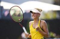 Костюк обыграла теннисистку из топ-30 рейтинга WTA