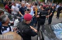"""В Чернигове заблокировали очередные """"подозрительные"""" машины (обновлено)"""