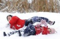 Мороз отправил луганских школьников на каникулы