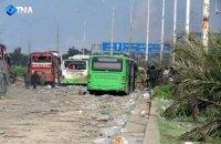 Повстанцы заблокировали под Алеппо автобусы с 3000 беженцев