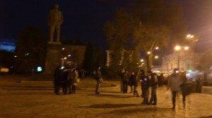 У Полтаві знесли пам'ятник Леніну