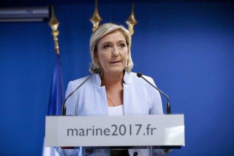 Украина решила не запрещать въезд Марин Ле Пен