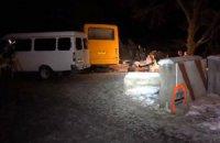 Під Артемівськом на міні підірвався автобус: 4 загиблих (оновлено)