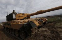 Турция начала военную операцию на территории Сирии