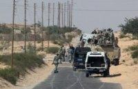 Египетская армия направила танки на Синайский полуостров