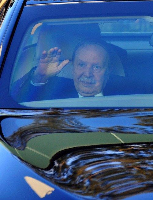 Президент Алжира Абдель-Азиз Бутефлика