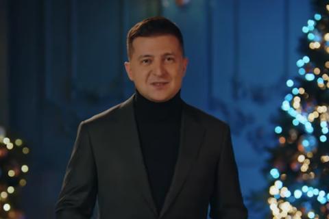 Зеленский поздравил украинцев с католическим Рождеством