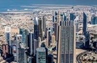 У Дубаї загорівся готель-хмарочос (оновлено)