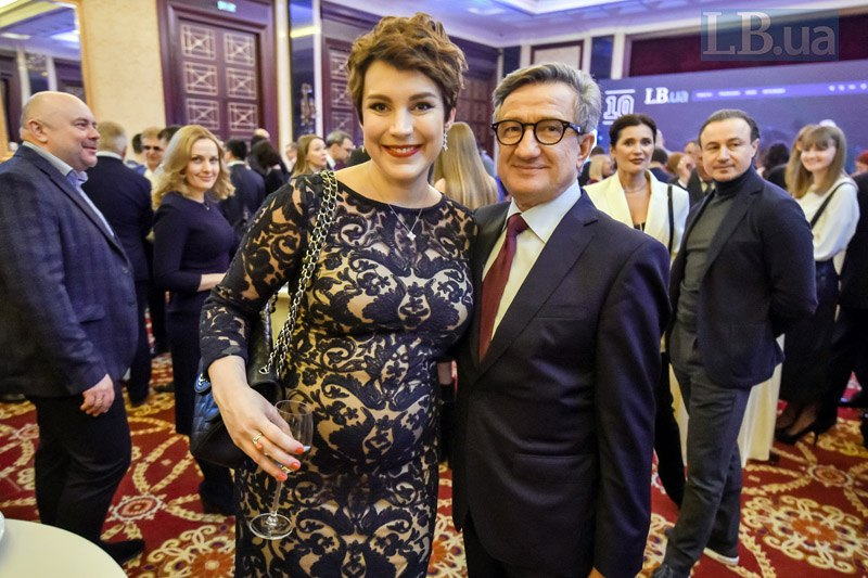 Соня Кошкина и Сергей Тарута