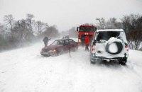 В Одесской и Николаевской областях ограничено движение транспорта из-за непогоды