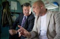 Тука обсудил с Порошенко свое новое назначение