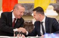 Ердоган привітав Зеленського з Днем незалежності та запросив до Туреччини
