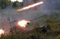Из России Украину обстреливают кассетными боеприпасами, - пресс-центр АТО