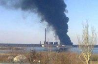 Озвучена сумма ущерба от пожара на Углегорской ТЭС