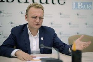 Мэр Львова предложил провести местные выборы в мае