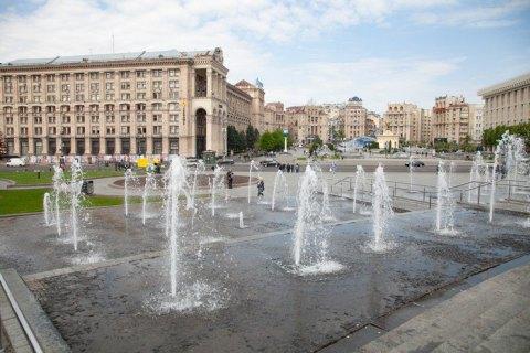 Киевские фонтаны заработают с 31 мая