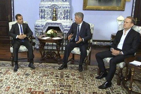 СБУ даст оценку встрече Бойко и Медведчука с премьером РФ Медведевым