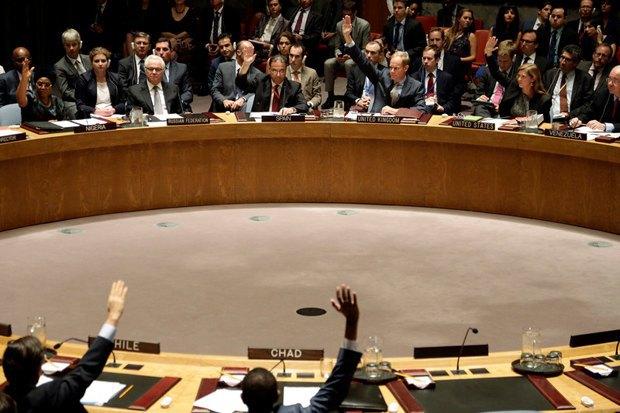 Голосування у РБ ООН по резолюції про створення міжнародного трибуналу щодо аварії малайзійського авіалайнера, 29 липня 2015 року