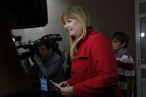 Жену Саакашвили выдвинули в мэры грузинского города Зугдиди