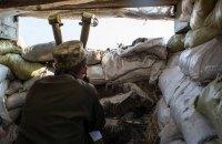 З початку доби на Донбасі поранено одного військовослужбовця ЗСУ