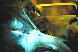 У Києві за ніч згоріли 7 автомобілів