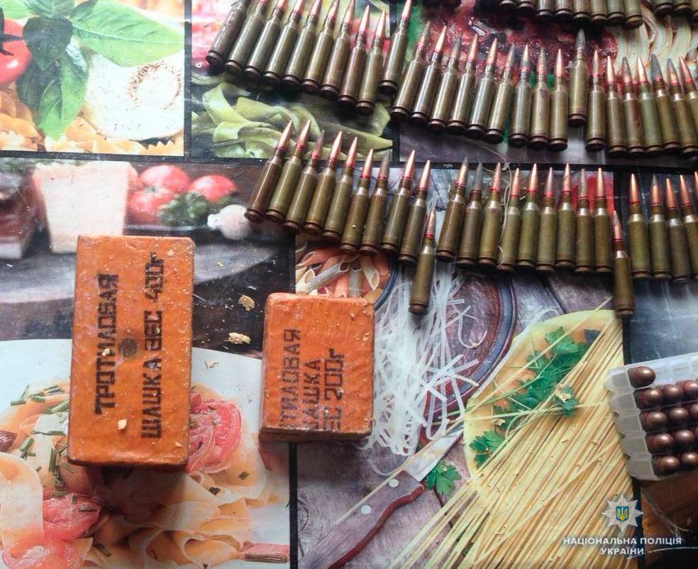 Упредприимчивого одессита отыскали сразу девять противотанковых гранатометов