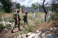 Боевики ранили двоих украинских военных